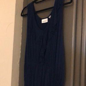 Avenue navy knit dress
